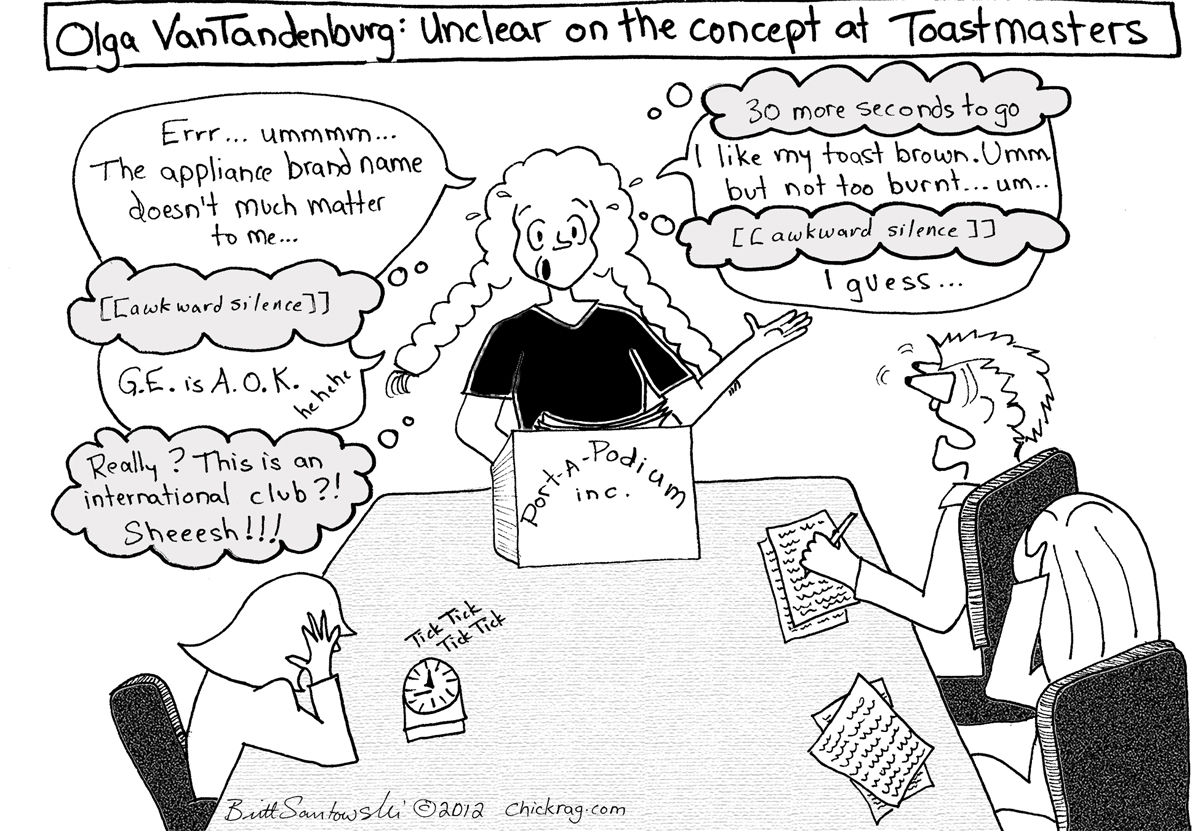 Unclear on the concept of Toastmasters