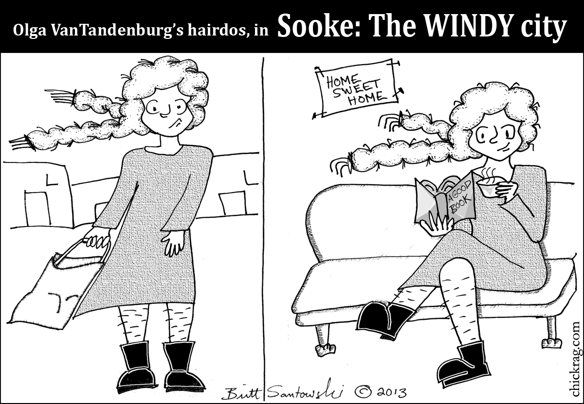 Sooke the windy little District