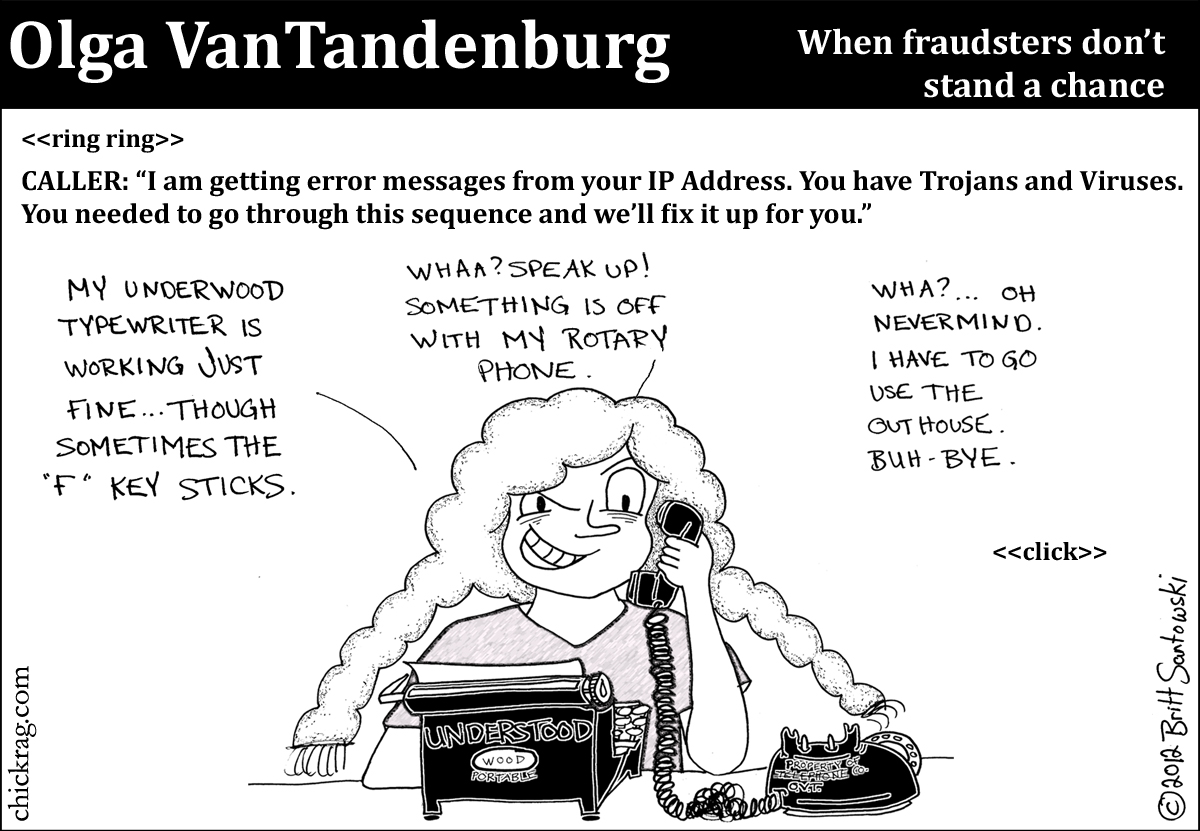 When fraudsters have their work cut out for them